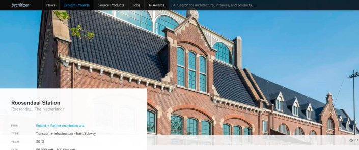Roosendaal op Architizer
