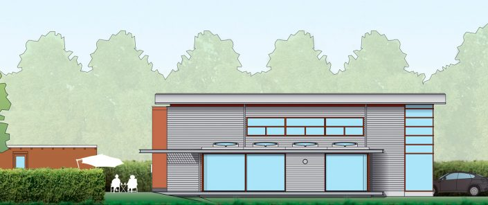 Aanbouw villa Rotterdam