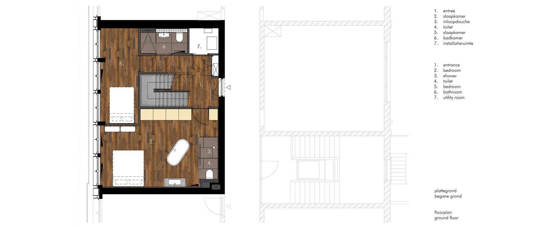 Interieur Appartement Amsterdam – Ruland Architecten